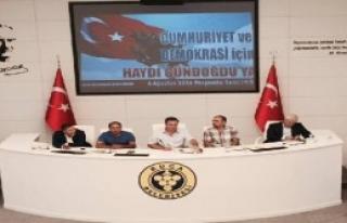 CHP'li Vekil Purçu'dan Miting Çağrısı