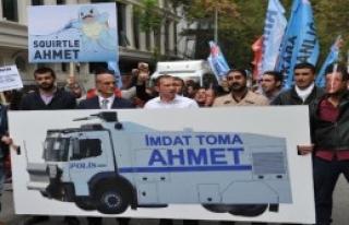 CHP'lilerden 'Toma' Protestosu