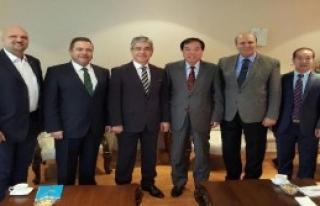 Çin'in İzmir Başkonsolosluğu'na Nezaket Ziyareti
