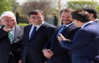 Erdoğan, İran Cumhurbaşkanı Ruhani'yi Ağırladı