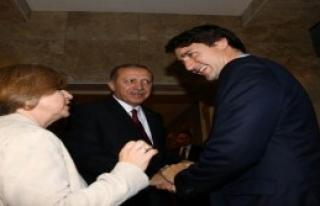 Cumhurbaşkanı Erdoğan, Kanada Başbakanı Trudeau'yu...
