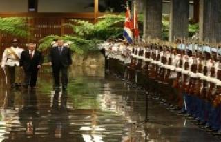 Cumhurbaşkanı Erdoğan, Küba'da Resmi Törenle...