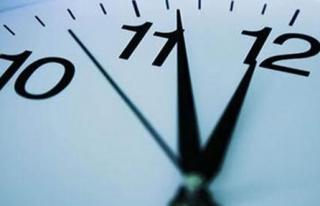 Türkiye Saatleri Durdurdu