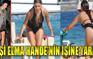 Ekşi Elma Hande Erçel'in İşine Yaradı