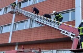 Emniyet Müdürlüğü'nde Yangın Tatbikatı
