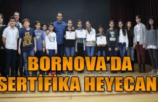 Bornova'da Sertifika Zamanı