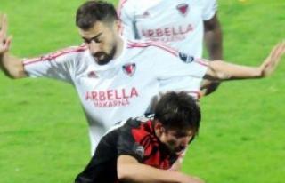 Gaziantepspor 1-0 Mersin İdmanyurdu