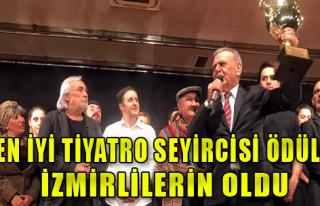 İzmir'in Tiyatro Sevgisi Tescillendi