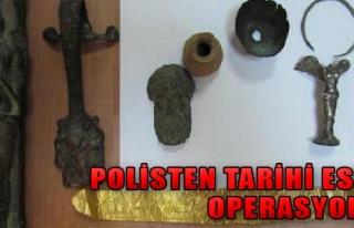 Polisten Tarihi Eser Operasyonu