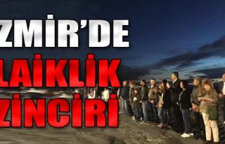 İzmir'de Laiklik Zinciri