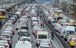 İşte Türkiye'deki Araç Sayısı...