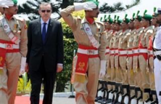 Erdoğan'a 'Samanyolu' Jesti