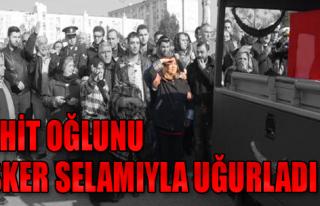 İzmirli Şehit Toprağa Verildi