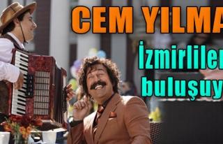 Cem Yılmaz İzmirlilerle Buluşuyor