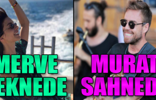 Murat Sahnede Merve Teknede