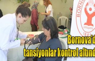 Vatandaşlara Sağlık Testi Yapıldı