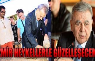 İzmir Heykellerle Güzelleşecek