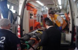 Datça Kaymakamı Kazada Yaralandı