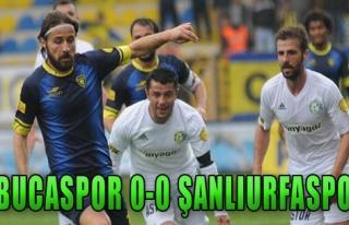 Bucaspor 0-0 Şanlıurfaspor