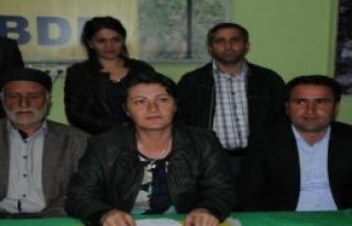 DBP, Hakkari'de 'Kara Bayram' İlan Etti
