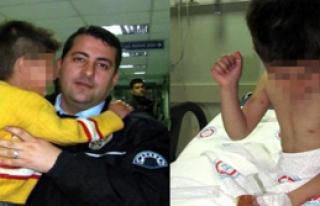 İşkence Gören 6 Yaşındaki Çocuk Polise Sığındı