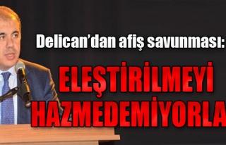 Delican'dan CHP'ye Tepki