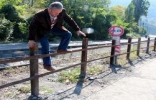 Demir Yolu Hattına Korkuluk Önlemi