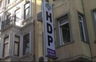 HDP İl Binasında Güvenlik Araması