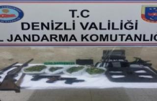 Denizli'de Uyuşturucuya 2 Tutuklama