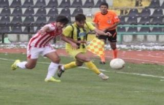 Derincespor-Denizli Büyükşehir Belediyespor: 1-1