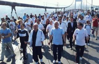 İstanbul'da 'Kuzey Yürüyüşü'