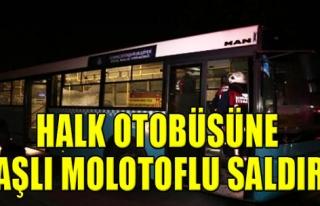 Halk Otobüsüne Saldırı