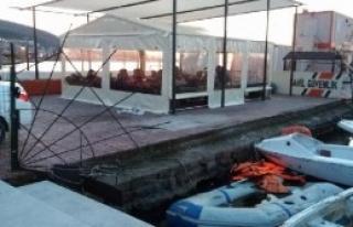 Dikili'de Denizde 105 Suriyeli Daha Yakalandı