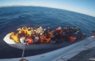 Lastik Botta 53 Mülteci Yakalandı