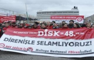 DİS'in 'direniş Çadırı'na İzin Verilmedi