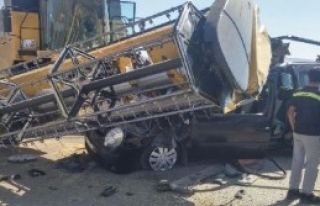 Diyadin'de Trafik Kazası: 1 Ölü