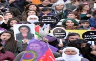 Diyarbakır'da Yürüyüşle Protesto