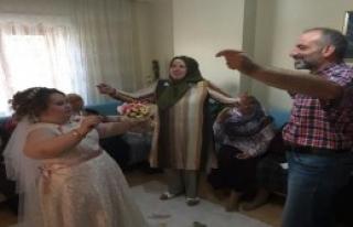 Cansu'nun Düğün Hayali Gerçek Oldu