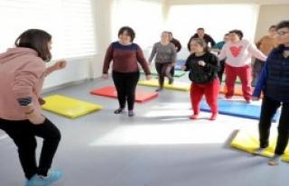 Çocuklar Dans Ederek Eğlendi