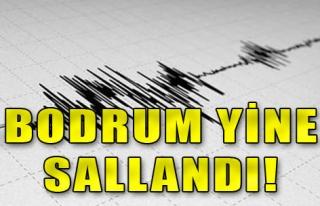 Bodrum'da Depremler Bitmiyor! 4.6