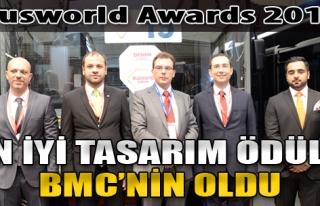 Busworld Awards 2017 En İyi Tasarım Ödülü BMC'nin...