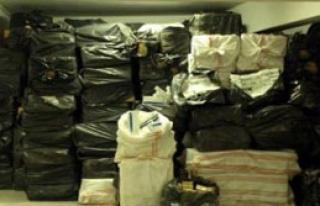 2 Milyon Liralık Kaçak Sigara Operasyonu