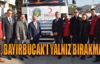 Ticaret Borsası'ndan Türkmenlere Yardım