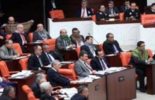 Meclis'te Poşulu Eylem!