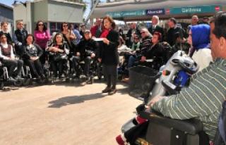 Engellilerin metro isyanı