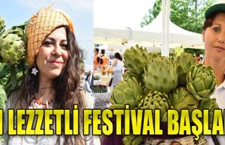 Enginar Festivali Başladı