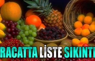 Rusya'ya Yaş Meyve Sebze İhracatında Liste Sıkıntısı