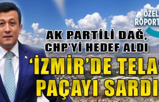 AK Partili Dağ, CHP'yi Hedef Aldı