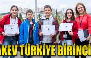 TAKEV Türkiye Birincisi