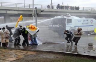 Ankara'da yine olay